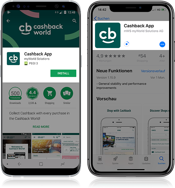 Cashback World Application